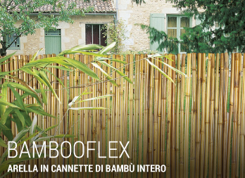 Bambooflex arella in cannette di bamb intero nortene for Canne di bambu da arredamento