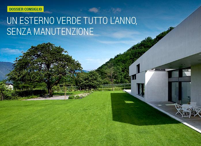 Un esterno verde tutto l 39 anno senza manutenzione nortene for Prato senza manutenzione