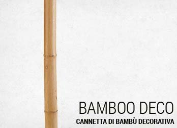 Cannetta di bambù decorativa