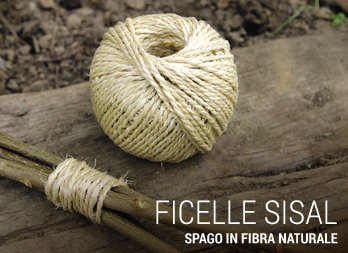 Spago in fibra naturale