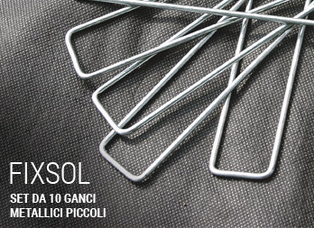 SET DI 10 GANCI METALLICI PICCOLI