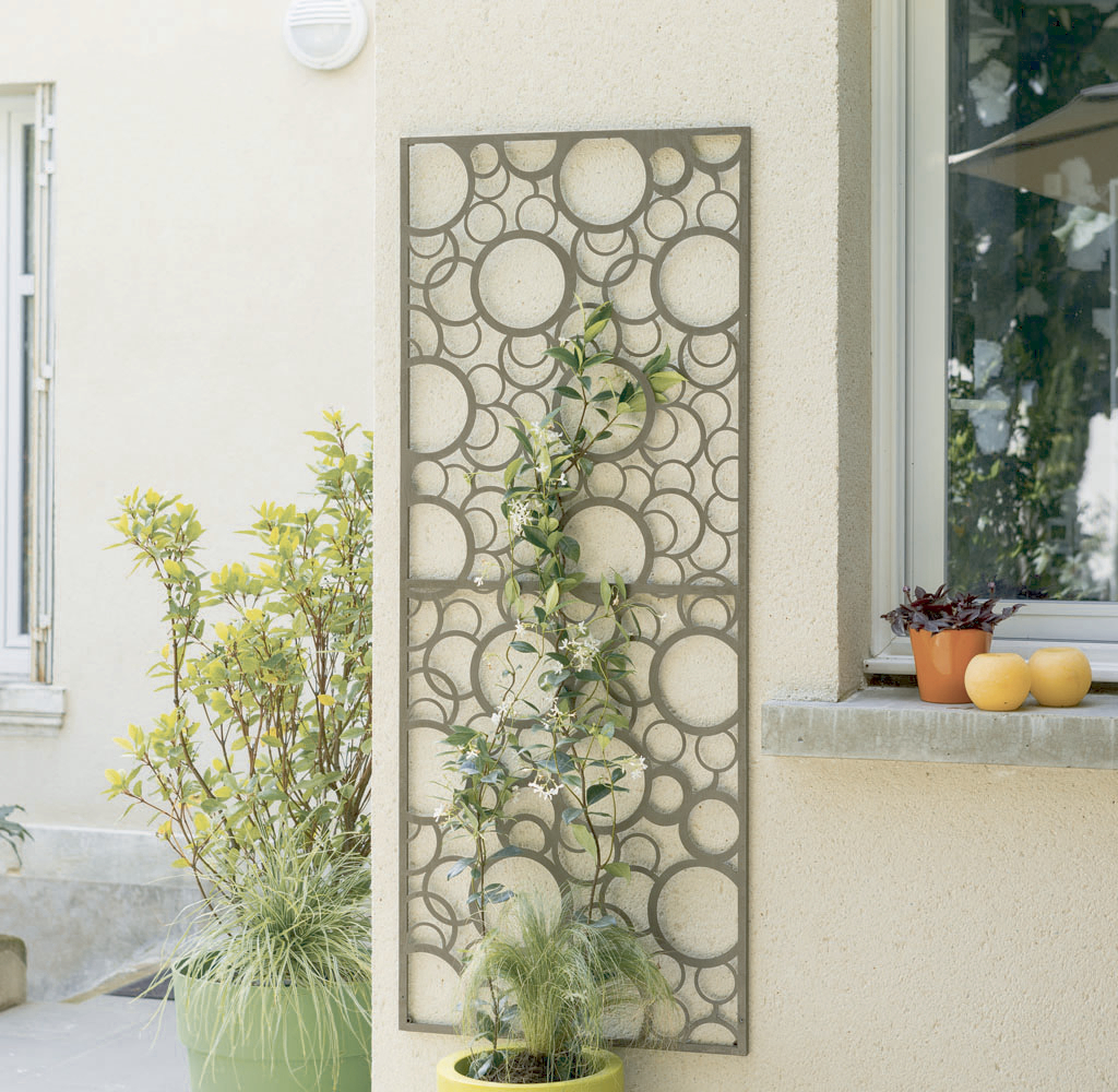 pannelli metallici con motivi decorativi nortene. Black Bedroom Furniture Sets. Home Design Ideas