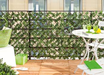 Greenly traliccio di vimini con foglie d edera nortene - Edera da interno ...